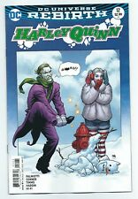 Harley Quinn 12 variant cover 1st print ReBirth series Suicide Squad Joker