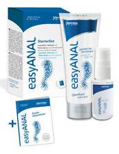 set 2 pz lubrificante gel intimo a base acqua e silicone spray anale rilassante