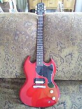 Epiphone SG Jr. Buddha Handwound  A8 Pickup. Hard Shell Case. Killer Tones.