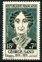 STAMP / TIMBRE FRANCE OBLITERE N° 1112 CELEBRITE / GEORGES SAND