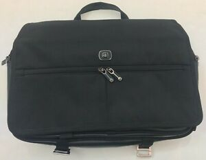 New Swiss Gear Brief Case Black Lots Compartments