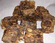 100% Natural Raw African Black Soap, Organic, Unrefined GHANA 6 oz. bar