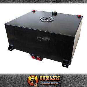 AEROFLOW BLACK ALLOY FUEL CELL 75 LITRE BLACK - AF85-2200ASBLK