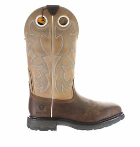 Ariat Mens Workhog Earth/Beige Work & Safety Boots Size 11.5 (2E) (1889623)