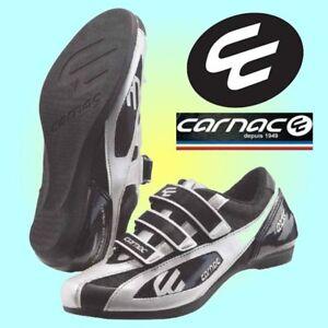 Carnac EOS Podium Road Shoes Black/Silver
