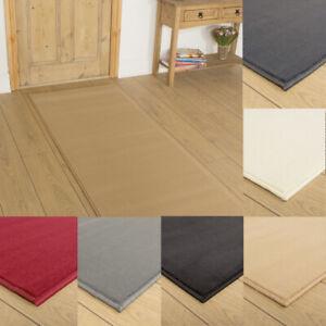 runrug Extra Long Hallway Carpet Runner Rug Heavy Duty Washable Kitchen Plain