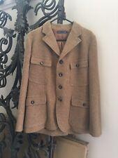 Ralph Lauren Polo Brown Wool Jacket Size 12