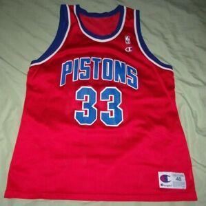 """ Grant Hill "" ~ Detroit Pistons Jersey ~ Champion Size 48 ~ NWOT"