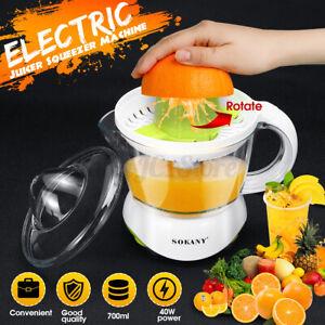 700ml Electric Juice Squeezer Juicer Citrus Orange Hand Press Extractor Machine