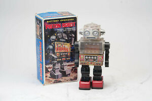 Vintage SJM Piston Robot in Box N3204