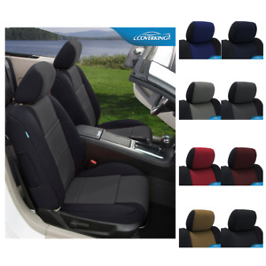 Seat Covers Neosupreme For Fiat 500 Coverking Custom Fit