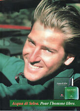 Publicité Advertising 1989 Parfum ACQUA DI SELVA eau de cologne VICTOR