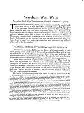 Wareham West Walls. (Medieval defences )   Dorset