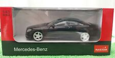 Rastar 1.43 scale Mercedes -Benz CL63 AMG in Black Diecast Model Car *BRAND NEW*