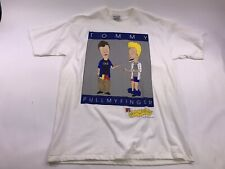 VTG Beavis And Butthead T-Shirt MTV Stanley Desantis Tommy Hilfiger XL