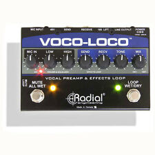 Radial Engineering Voco-Loco Effects Switcher for Voice or Instrument New