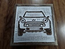 Wooden Storage/ Memory Box- Mini Car 14cm x 14cm