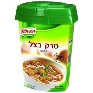Onion-Flavored Soup – All Natural Ingredients Kosher Parve 400gr