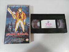 AKIRA NEO-TOKYO KATSUHIRO OTOMO VHS TAPE CINTA COLECCIONISTA ANIME MANGA ESPAÑA