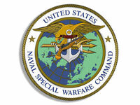 """4"""" united states naval special warefare command navy seal trident sticker decal"""