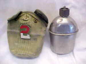 """""""1945 U.S. S.M CO """" CANTEEN & COVER"""