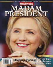 RECALLED NEWSWEEK MADAM PRESIDENT HILLARY CLINTON 8 x 10 FULL COLOR PHOTO POSTER