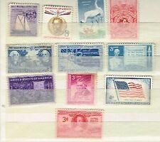 (11-310) 10  Unused Assorted   US  Postage  sTamps