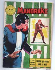 MANDRAKE n°70 - Editions des Remparts 1965. TTB