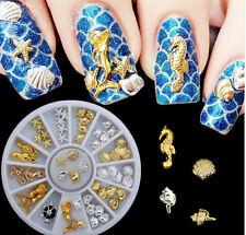 Conjunto Decoración De El Mar Para Uñas de Mujer ~ Sea Ocean Nail Decor Set