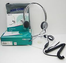 ADD110-04 Headset for Avaya 1608 1616 9610 9611 9620 9630 & Cisco 7905 7910 7912