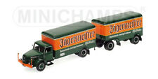 "Minichamps 1950 Henschel HS 140 Truck with Trailer ""Jägermeister"" 1/43 Limited"