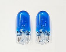 Blue 501 (T10/W5W) 12v 5w Capless Car Bulbs (Pair)