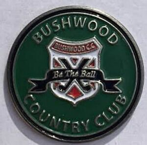 New Caddyshack Bushwood Country Club Golf Ball Marker