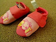 GIRLS PINK PEPPA PIG SLIPPERS - FROM NEXT - SIZE 12 (EU 30) BRAND NEW WITH TAG!
