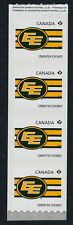 Canada 2560i End pair coil strip MNH CFL Edmonton Eskimos, Sports