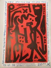 A.R. Penck, handsigniert
