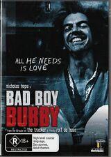 BAD BOY BOY BUBBY - CULT COMEDY MASTERPIECE - NEW DVD FREE LOCAL POST