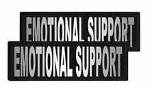 Emotional Support Patch Patch Reflective Extra Label Tag for Dog Harness