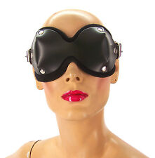 Ultimate Leather Blindfold by Axovus