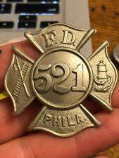 Early Philadelphia badge.