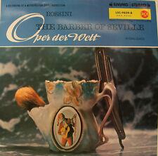 """Rossini the Barber of Seville Valetti Corena Peters Erich lessile villaggio 12"""" LP h641"""