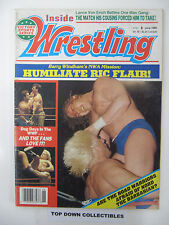 Inside Wrestling    June  1986    The Road Warriors & The Barbarian