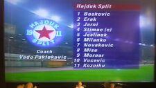 Hajduk Split 1-0 Tottenham Hotspur 1991/92 CWC, Novakovic, Lineker, Durie on DVD