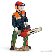 *NEW* SCHLEICH 13462 Forest Worker with Chain Saw - RETIRED