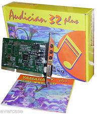 ISA 16bit Sound Card. Chip YMF718-S. Yamaha Audician 32 plus