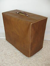 FENDER BLUES DELUXE 1x12 COMBO BROWN W/GOLD PIPING VINYL AMP COVER (fend112)