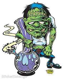 Ganja Ghoulie Sticker Decal Dirty Donny DD2