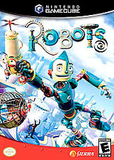 Robots (Nintendo GameCube, 2005) COMPLETE GAME BOX MANUAL NES HQ