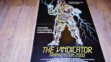 THE VINDICATOR frankenstein 2000  ! affiche cinema
