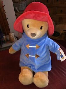 Paddington Bear Large Plush Soft Baby Toy - 20 inch approx - New with tags
